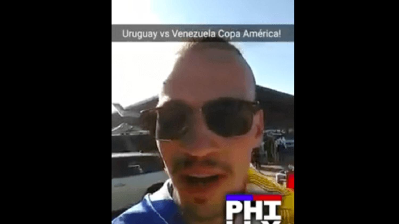 Gaston Takes Over Copa90's SnapChat - Uruguay v Venezuela
