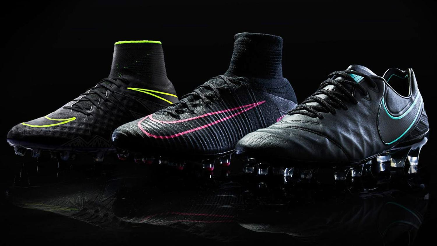 Nike Release Classy 'Pitch Dark' Boot Collection