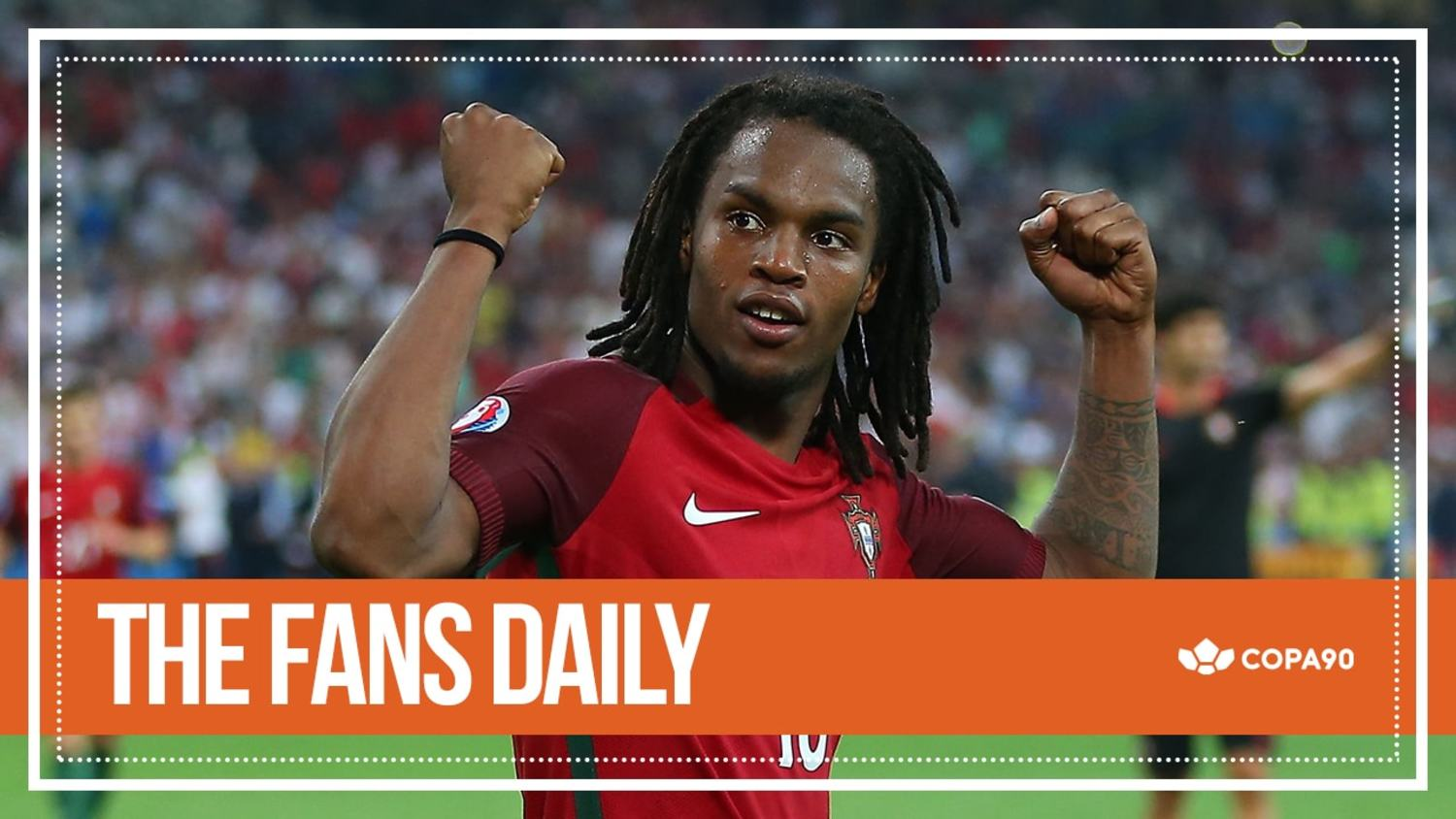Wonderkid Renato Sanches Fires Portugal Into Semis | The Fans Daily