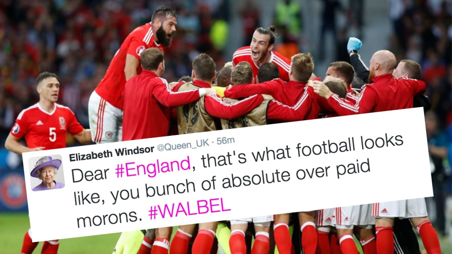 How the Internet Reacted to Wales' Incredible Win Over Belgium