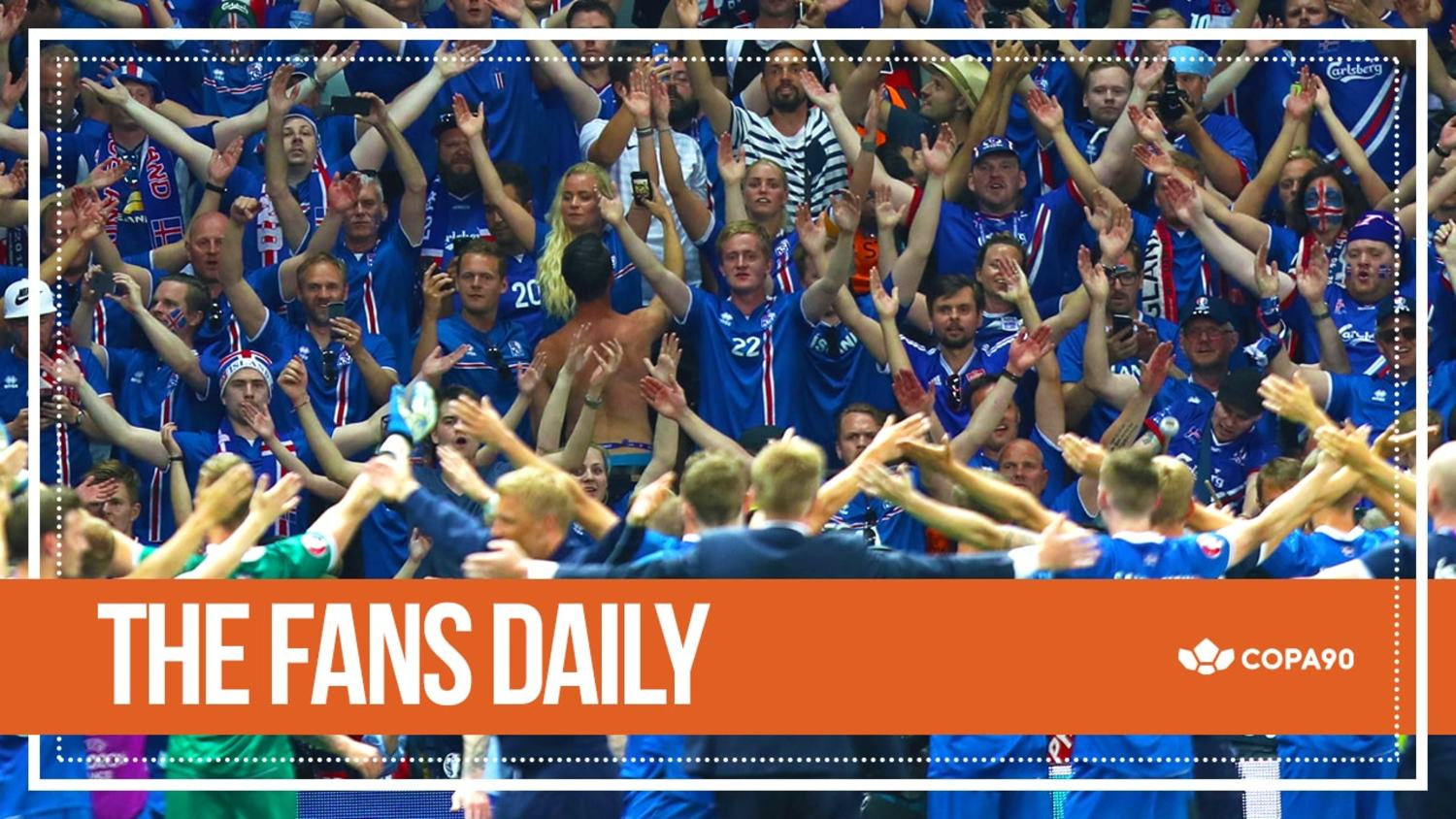 Iceland Prove Why Euro 2016 Is So Special   The Fans Daily