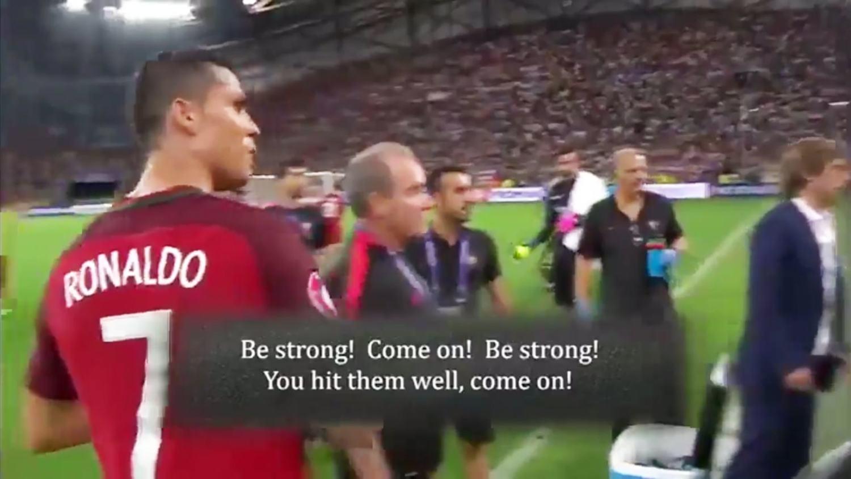 How Ronaldo Convinced Teammate Moutinho To Take Crucial Penalty vs Poland