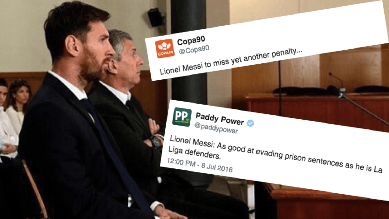 How the internet reacted to Lionel Messi's '21 Month Prison Sentence'