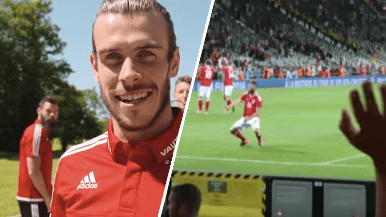 The Best & Funniest Joe Ledley dances at Euro 2016