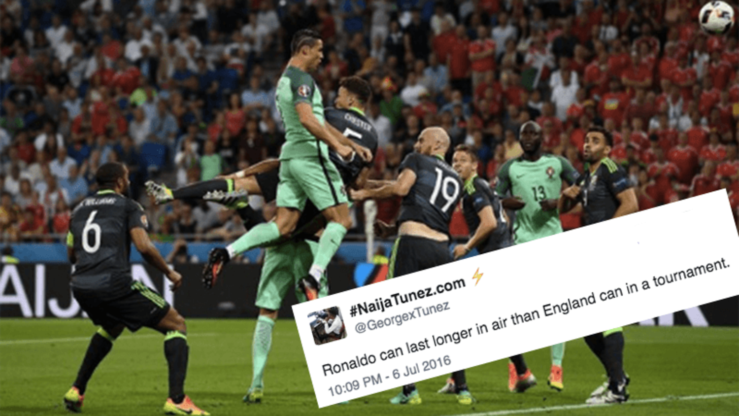 Best reactions to Cristiano Ronaldo's Performance and Insane Leap against Wales