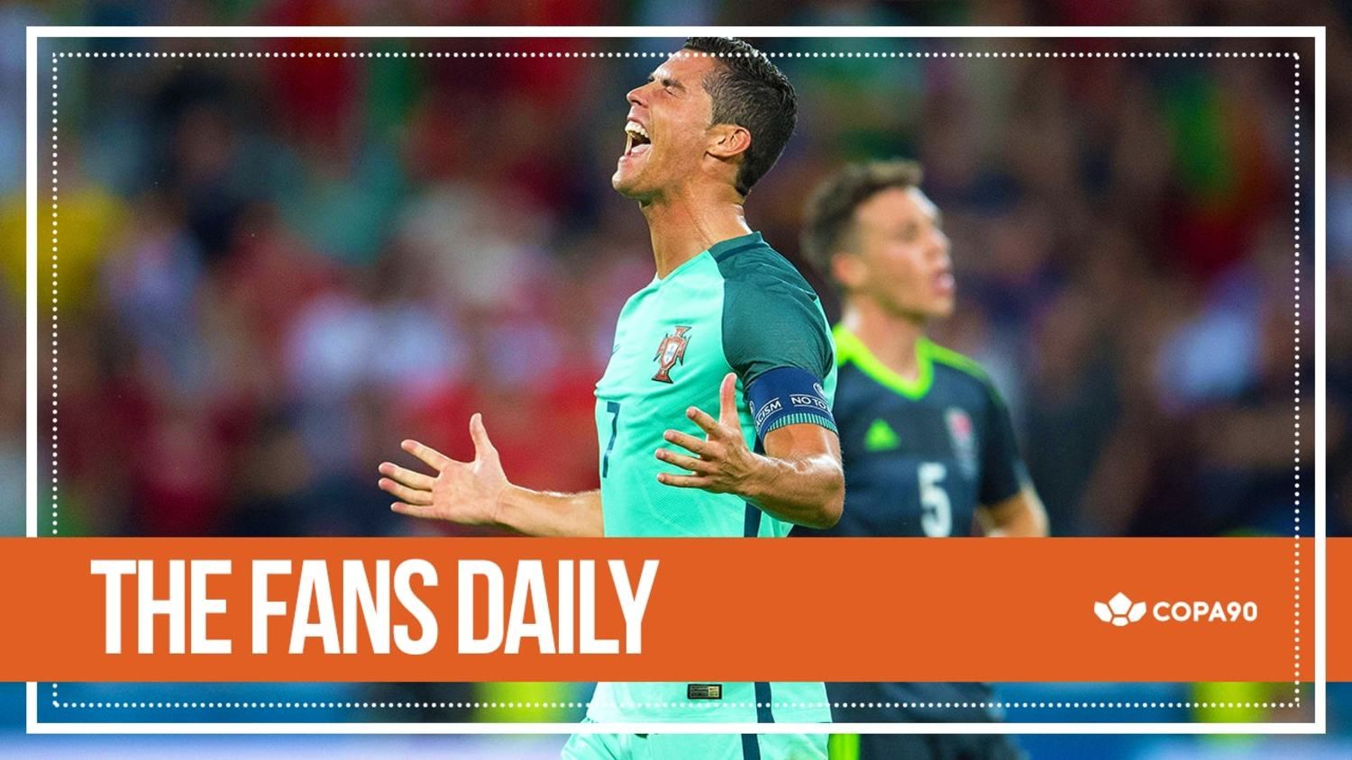 Ronaldo Finally Crushes Welsh Dreams | The Fans Daily