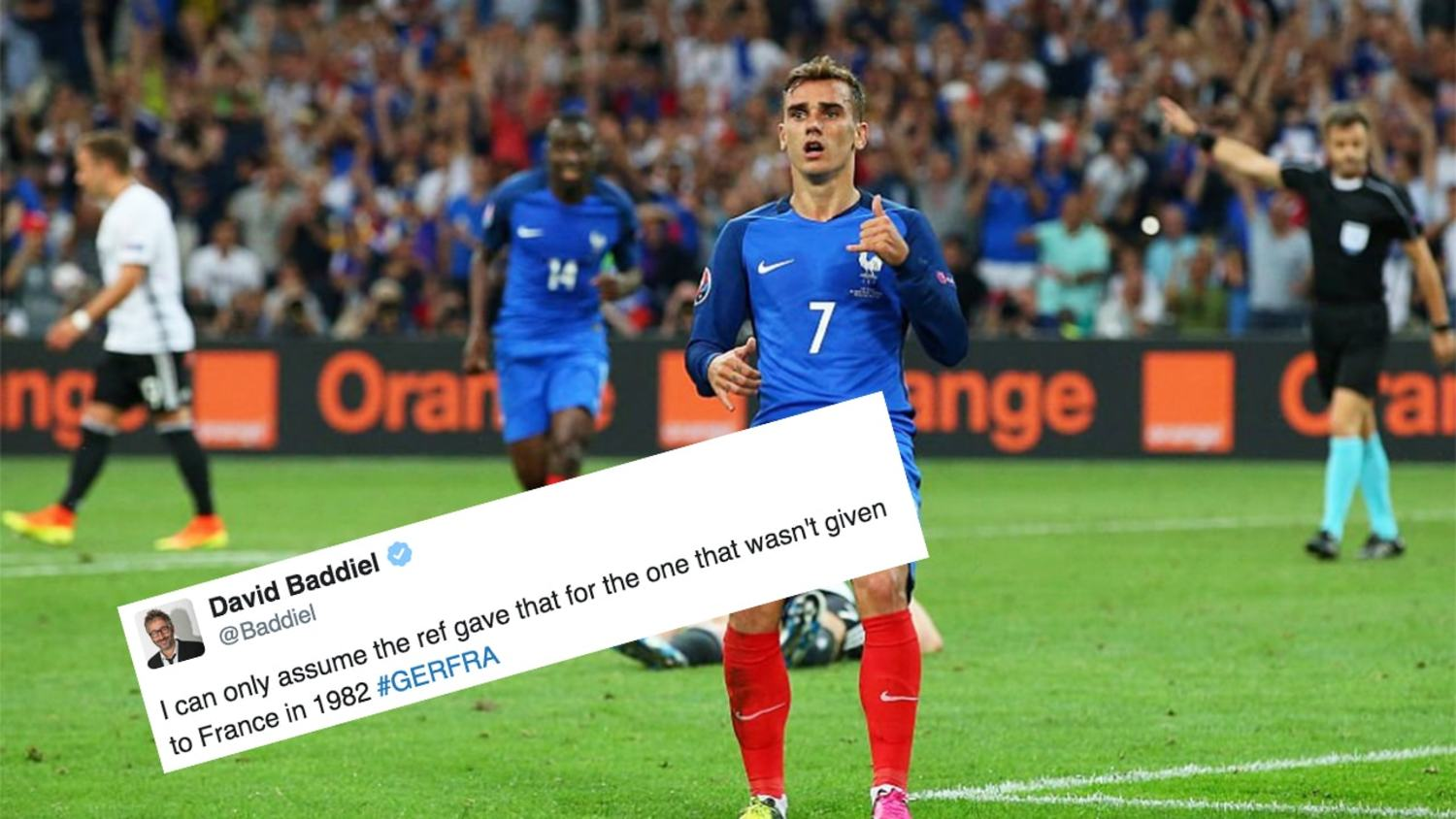 Best Reactions to France Beating Germany to Reach Euro 2016 Final