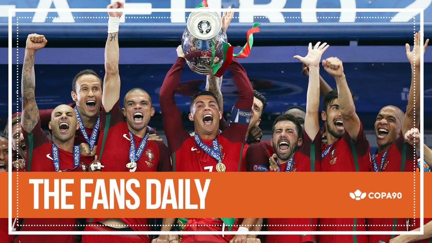 Player/Manager Ronaldo Leads Portugal to Glory | The Fans Daily