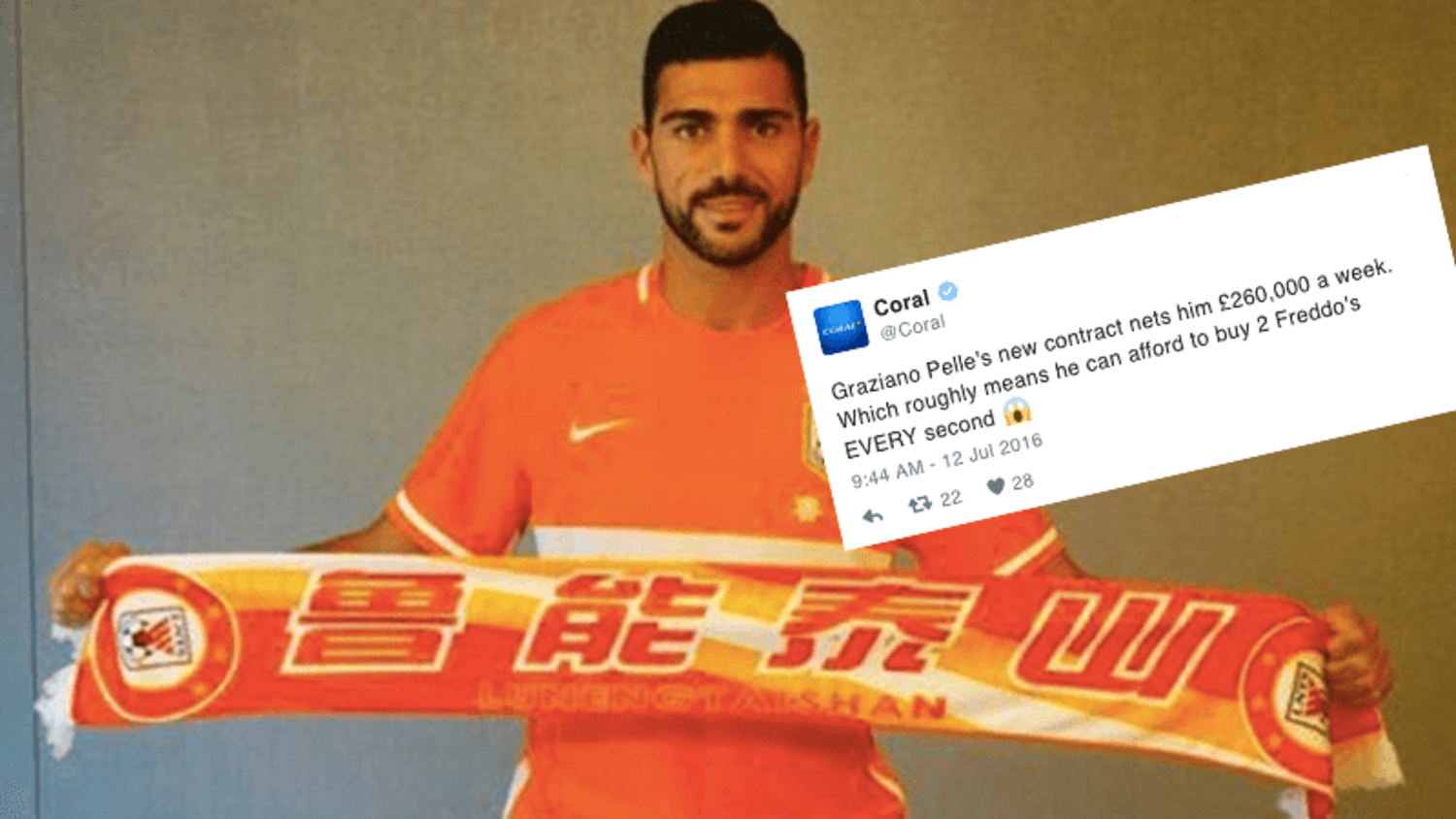 Funniest Reactions to Graziano Pelle's move to Chinese Super League