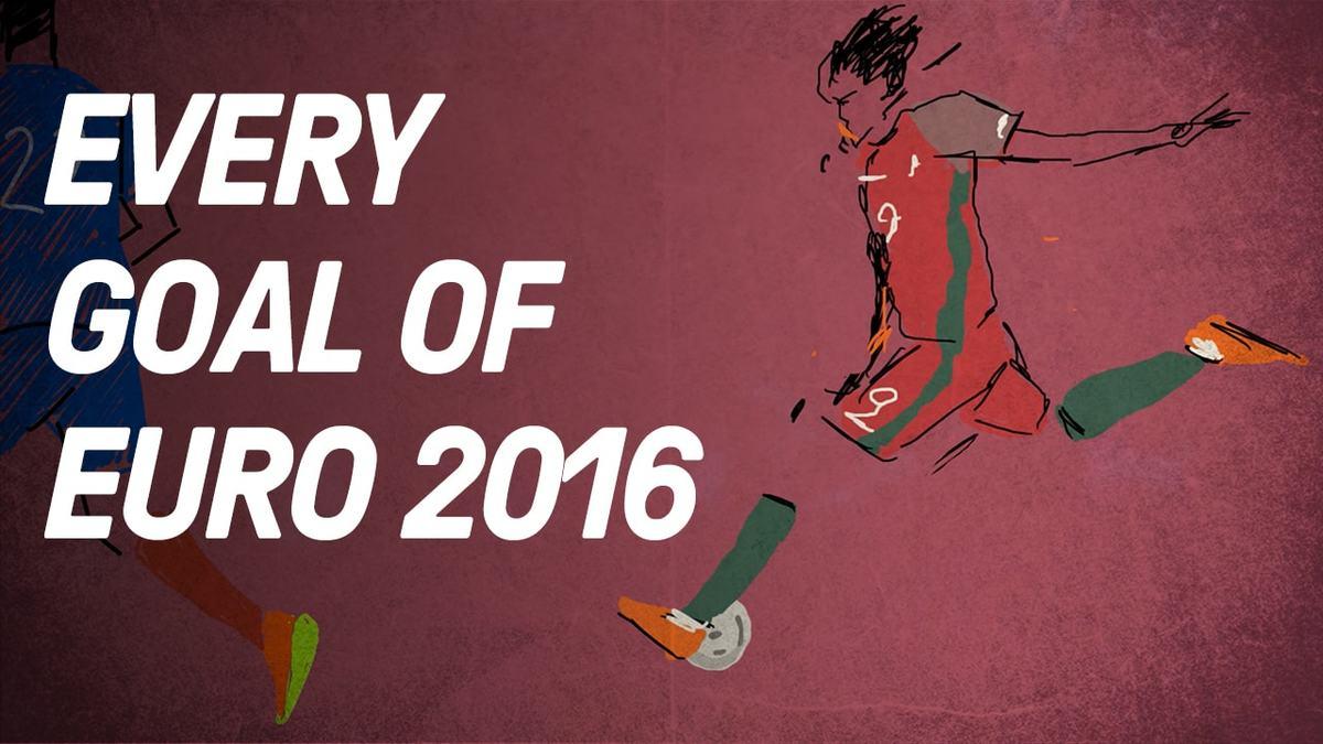 Every Goal Of Euro 2016 Animated