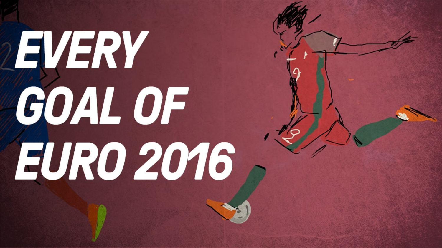 Every Goal Of Euro 2016 Animated