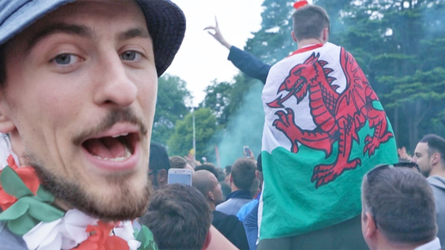 Vuj Joins Wales As They Make History in Euro 2016