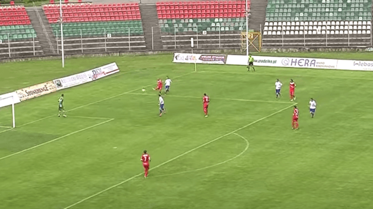 Zaglebie Sosnowiec's Udovicic scores the greatest own goal you will see this summer