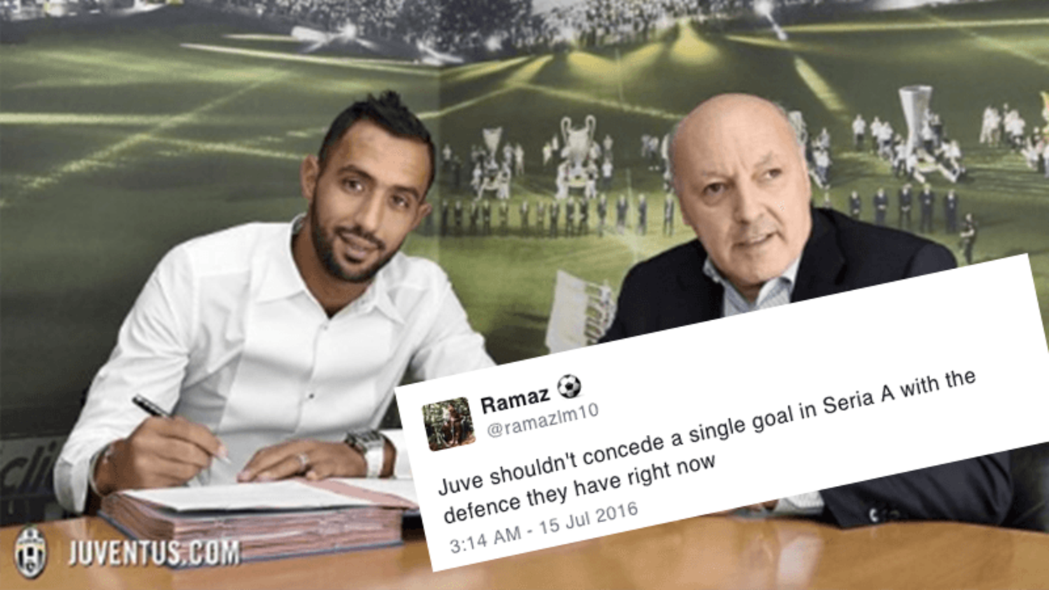 Best Reactions to Benatia joining Juventus' incredible defence for the new season