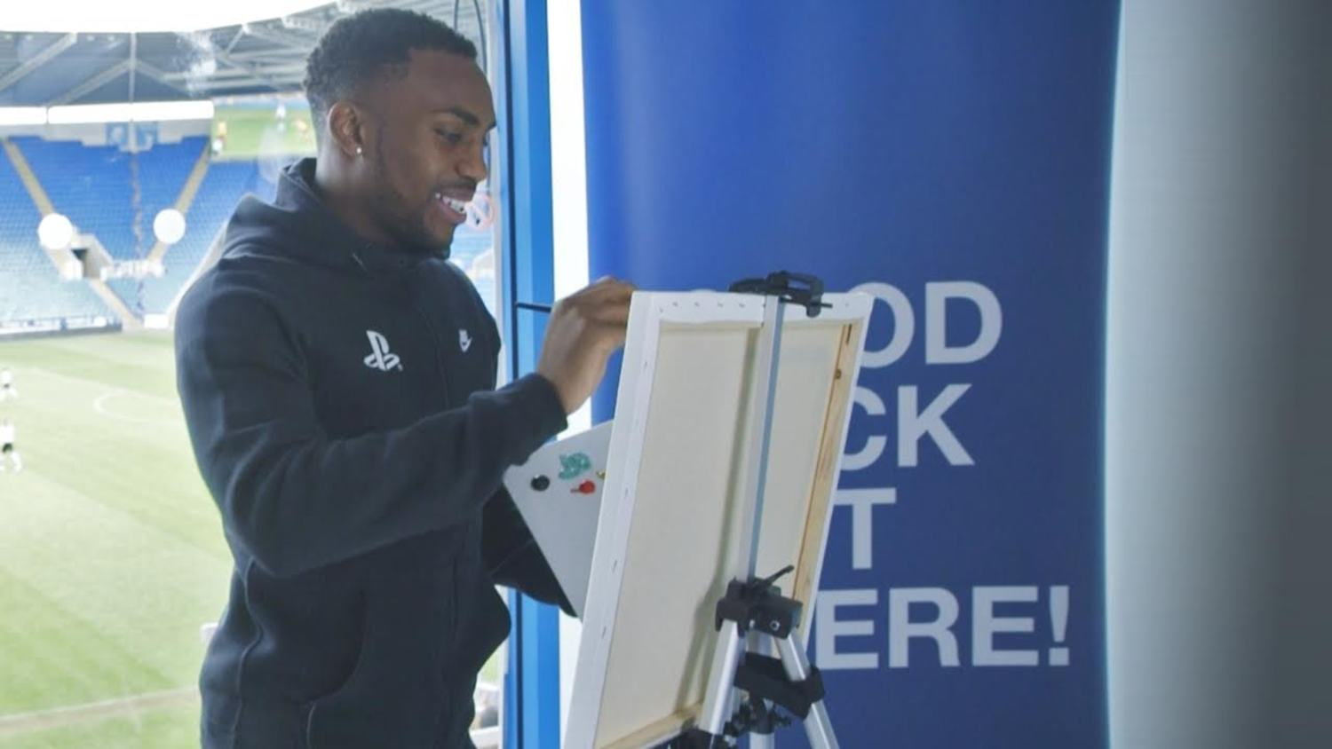 Painting with Danny Rose