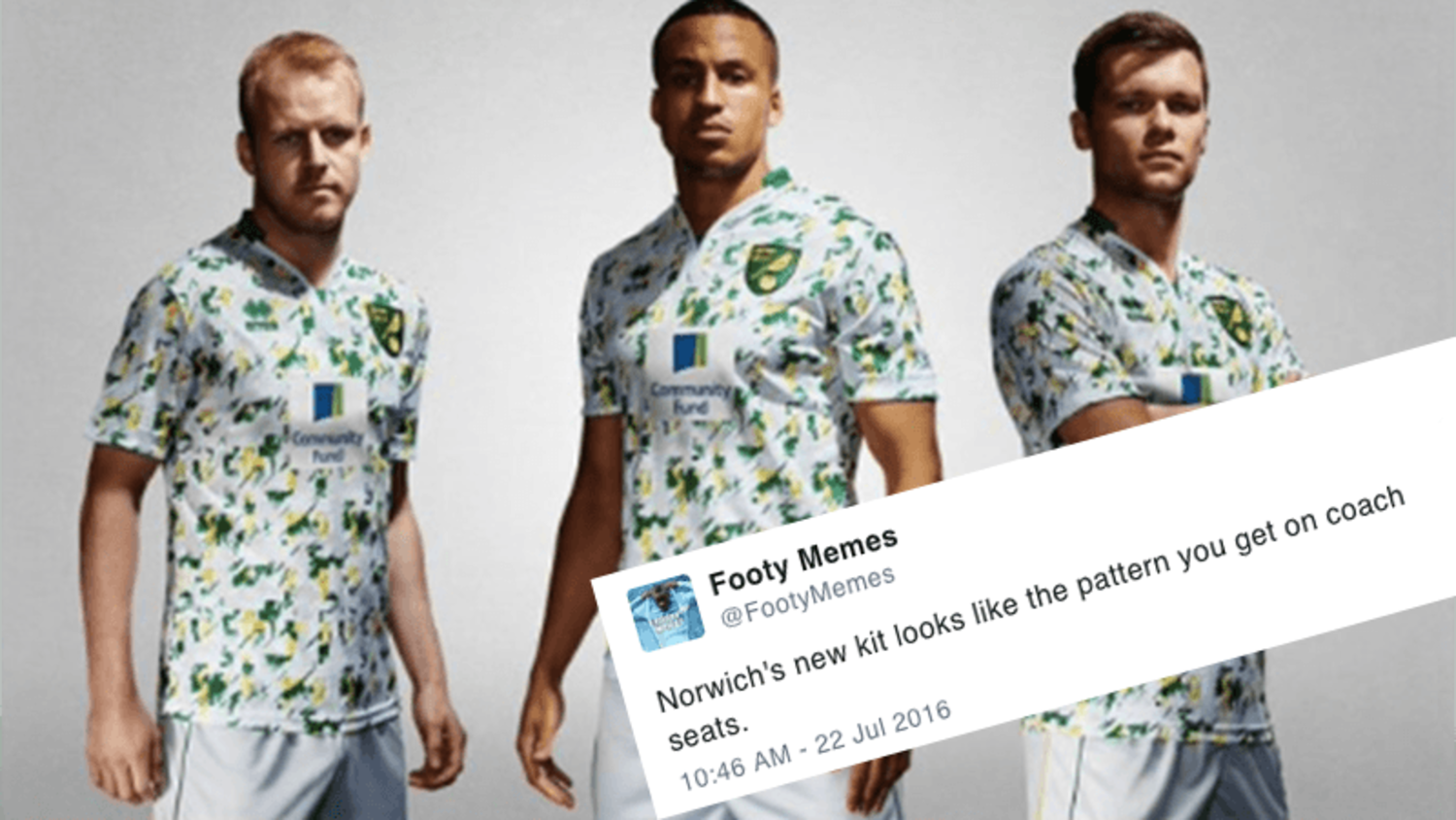Funniest reactions to Norwich City's new third kit