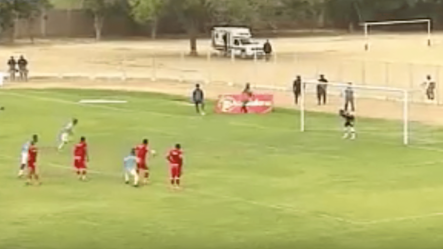Team In Peru Tries & Fails At A Messi, Suarez Penalty Routine