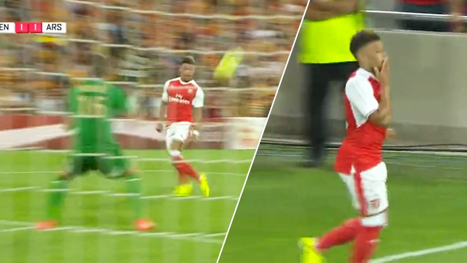 Alex Oxlade-Chamberlain Shows His Quality With Classy Chip