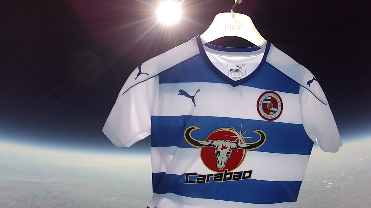 Reading Release Their New Home & Away Kits From Space
