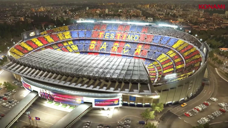 Konami Announce Barcelona Partnership in Stunning PES 2017 Trailer