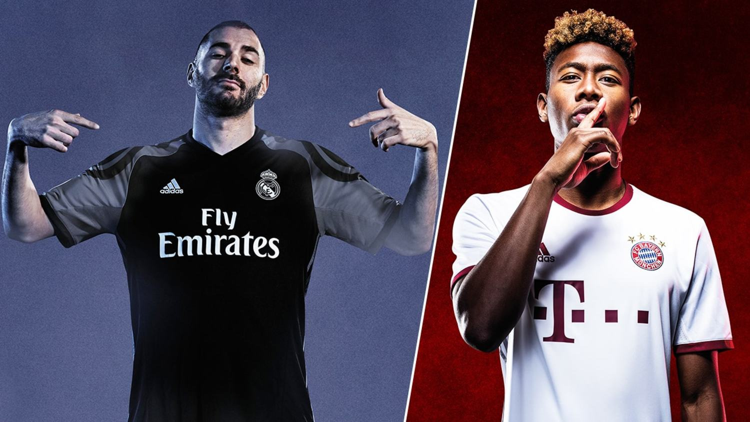 The Best Of Adidas Third Kits for 2016/17 Season: Real Madrid, Chelsea & more