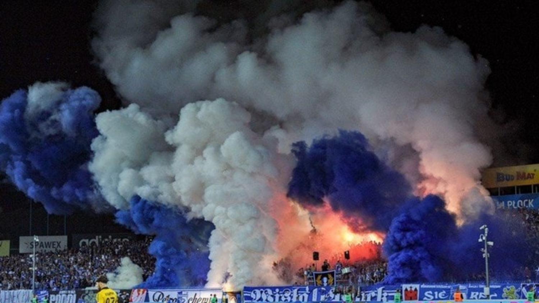 Insane Pyro: Wisła Płock vs Legia Warsaw