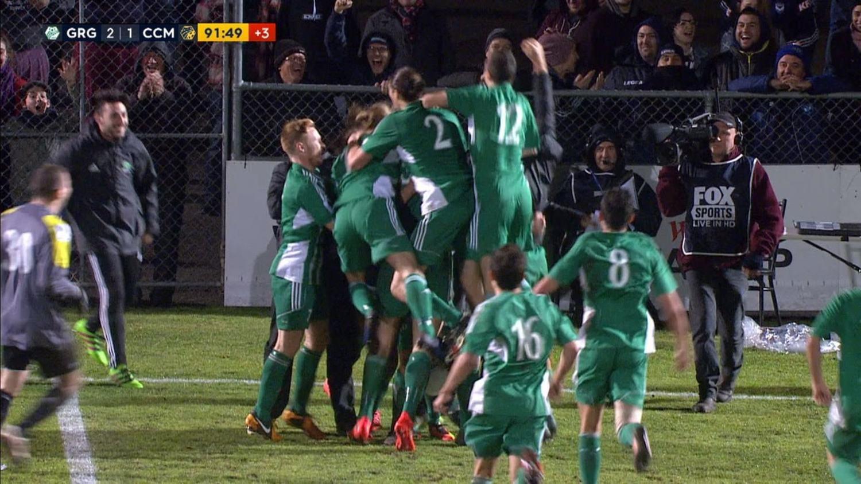 Incredible Last Minute Screamer In The FFA Cup In Australia