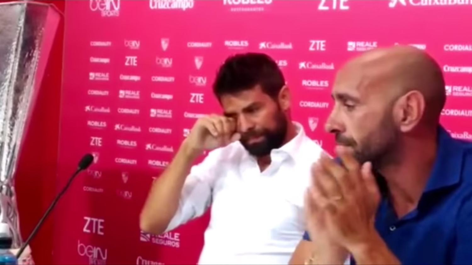Coke's Emotional Farewell in Final Press Conference with Sevilla