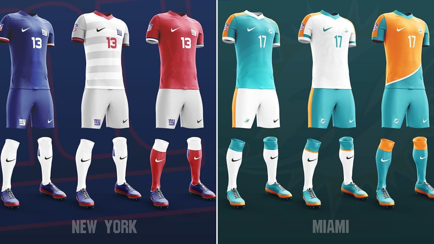 Amazing NFL x Football Concept Kits