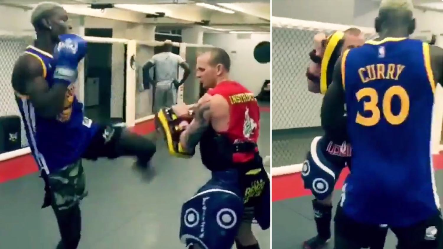 Paul Pogba Shows Off Kickboxing Skills During Off-Season