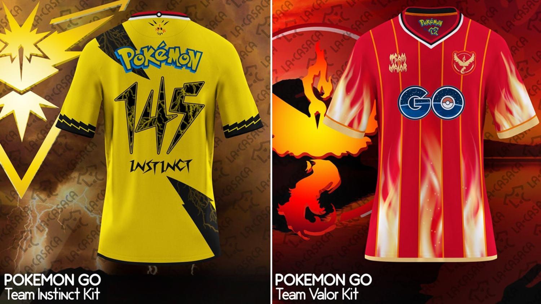 Brilliant Pokemon Go Football Kit Designs