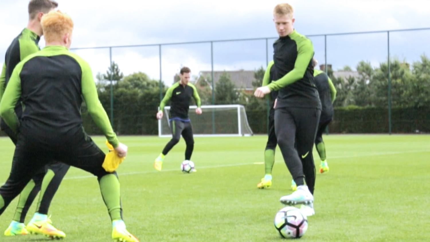 Pre-Season Training with Kevin De Bruyne on Pep, Man City & more