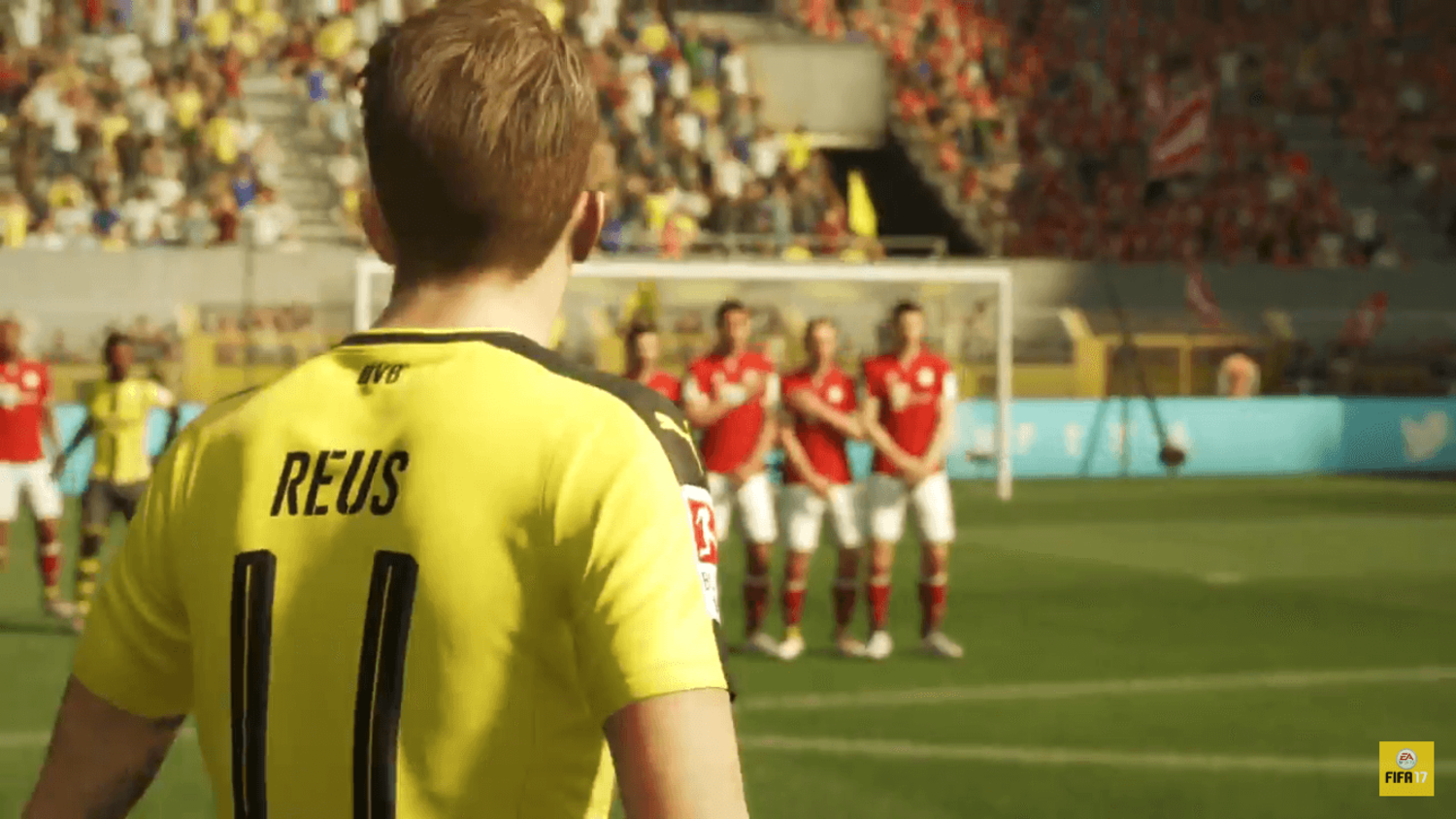 FIFA17 Official Gameplay Trailer Released