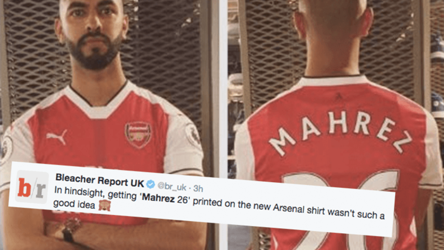 Funniest Reactions as Riyad Mahrez signs new contract at Leicester City