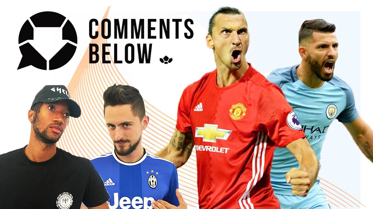 Zlatan Steals Aguero's Spotlight!