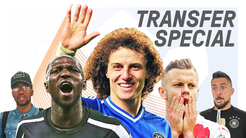 David Luiz, Wilshere & Sissoko: Crazy Deadline Day Transfer Special