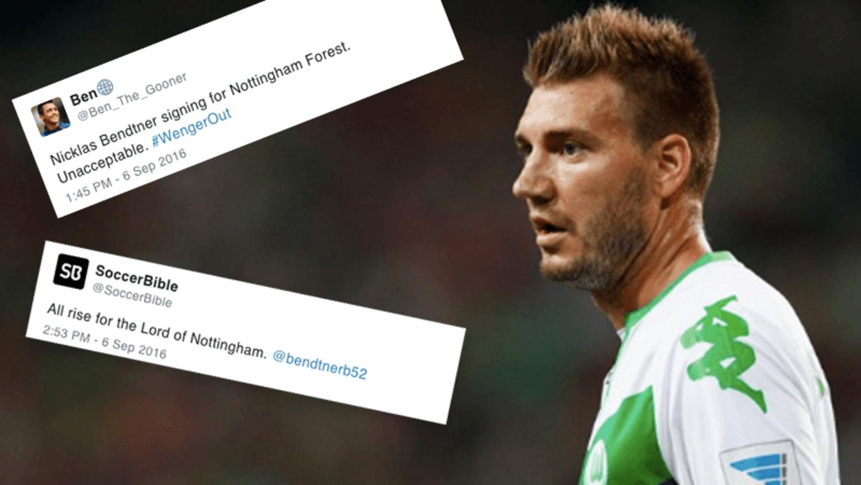 Funniest reactions as Nicklas Bendtner joins Nottingham Forest