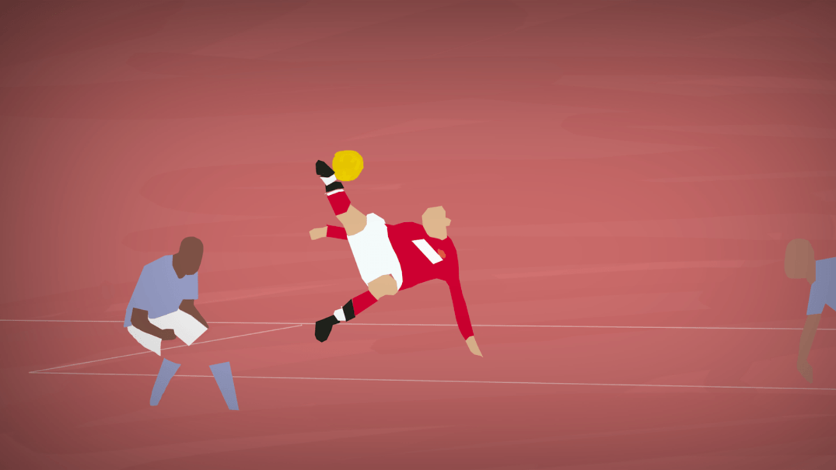 Top 5 Manchester Derby Goals of All-Time Animated