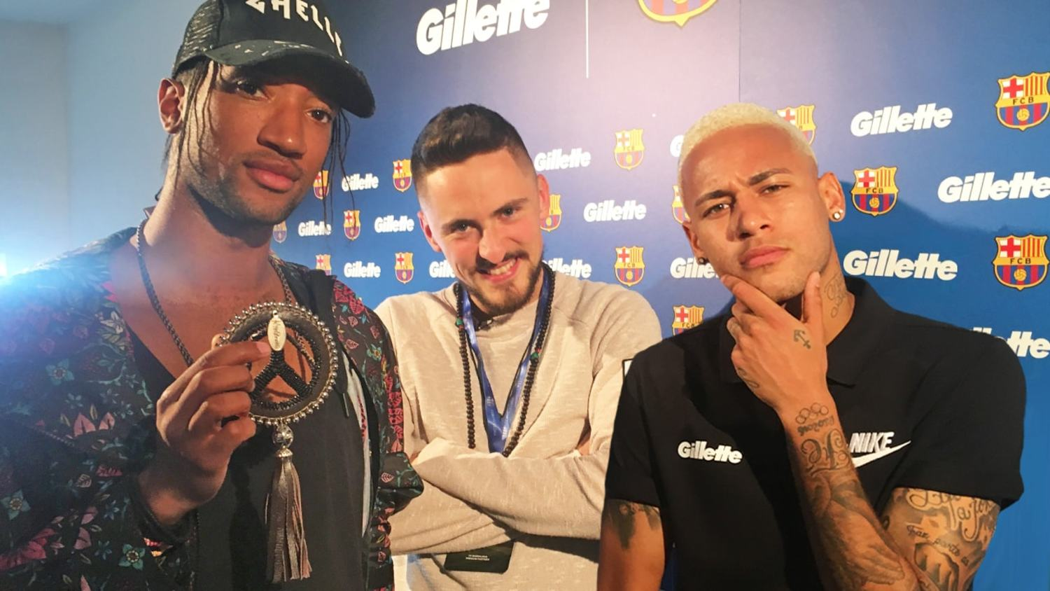 Chilling with Neymar: On MSN, Beyonce, Skepta and more!
