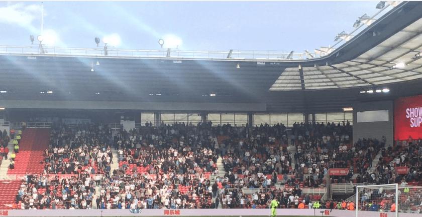 Spurs Fans At The Riverside