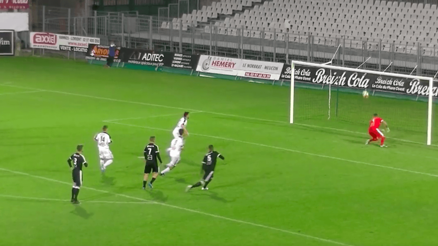 Goalkeeper Makes Hilarious Triple Penalty Save In French 5th Tier