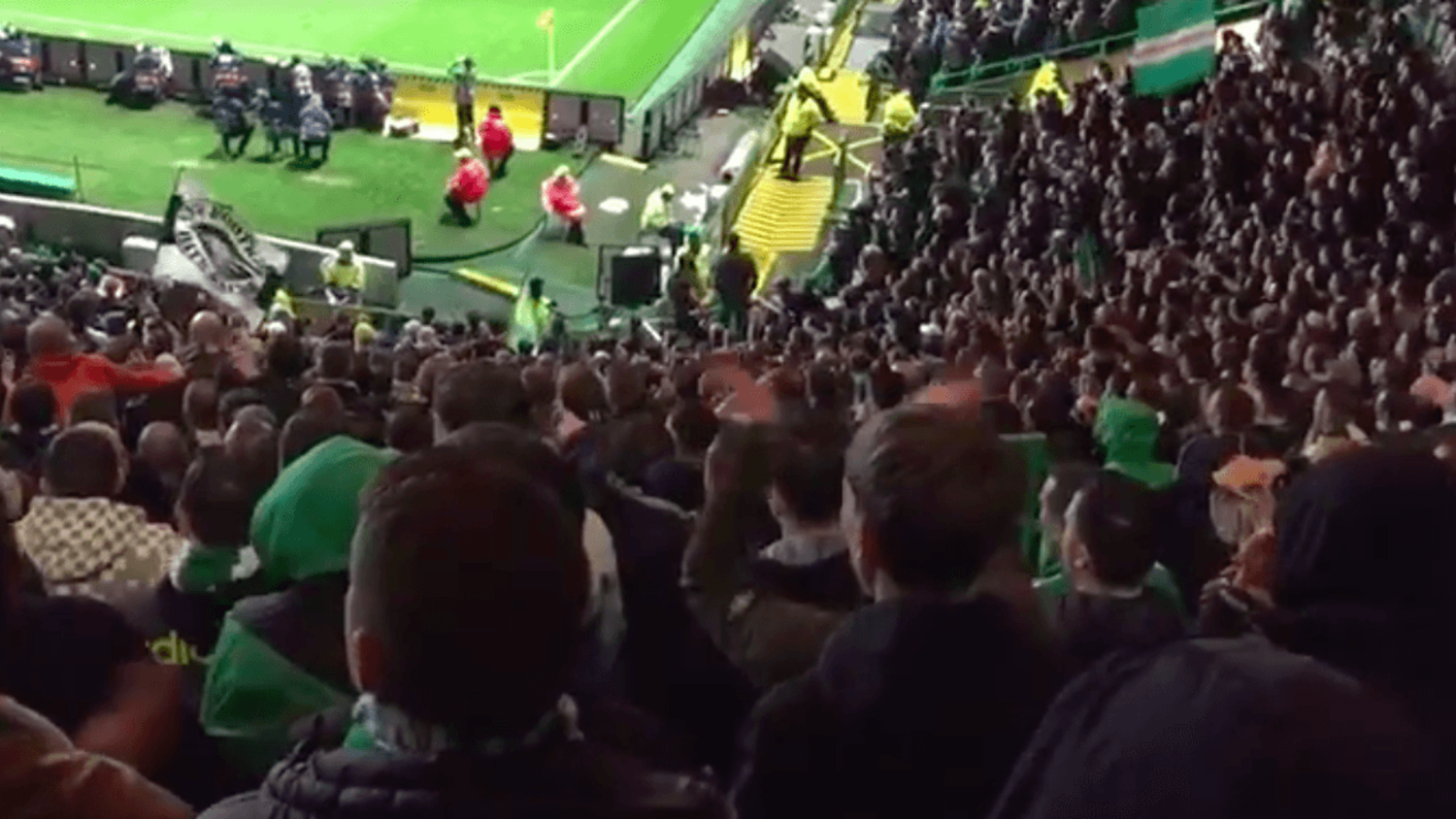 Scenes When Celtic Ended Pep's Perfect City Record