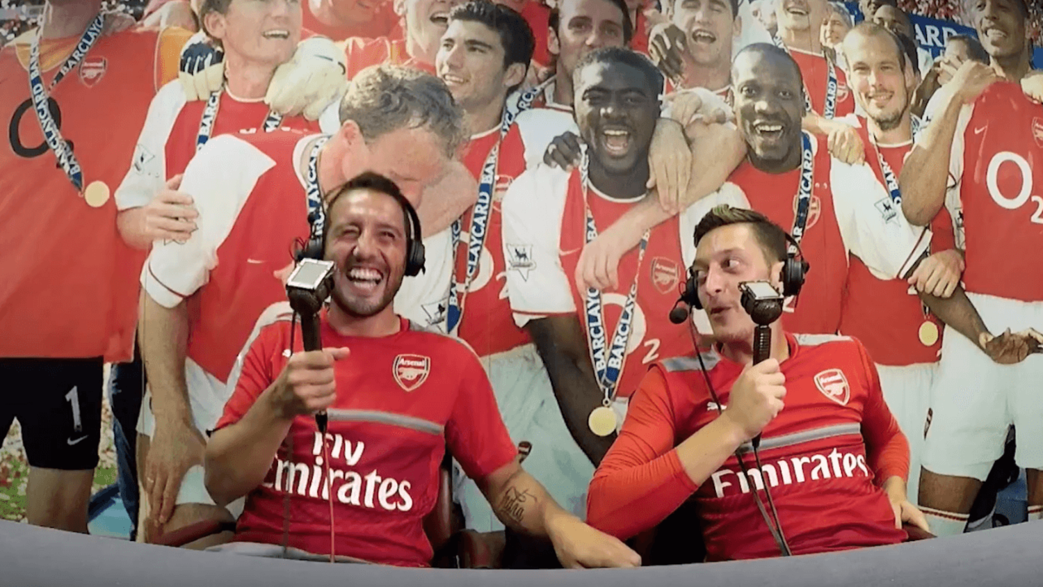 Mesut Ozil and Santi Cazorla in Hilarious Spoof Commentary