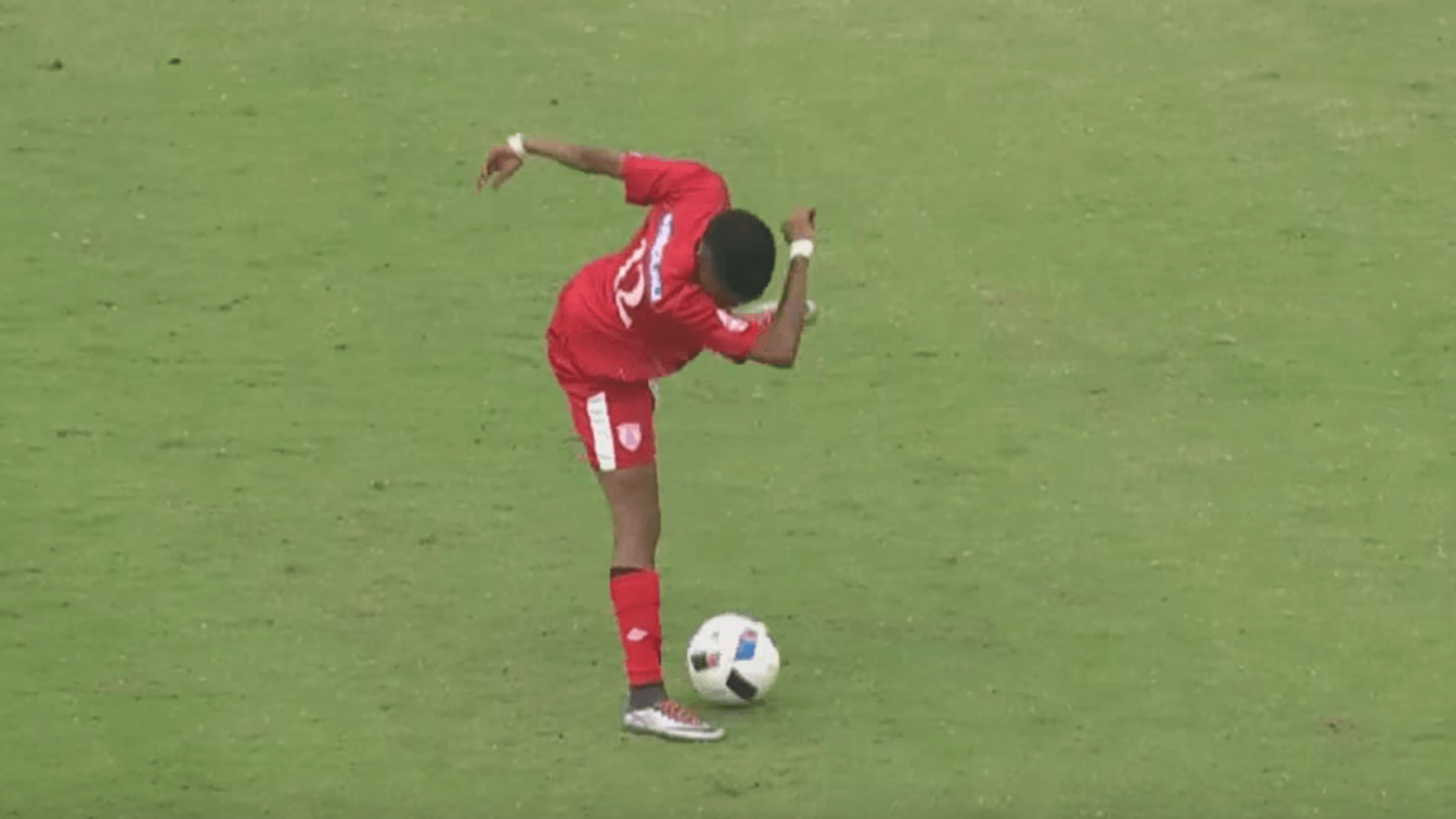 Free State Stars players pull off the Dab Twice During Match