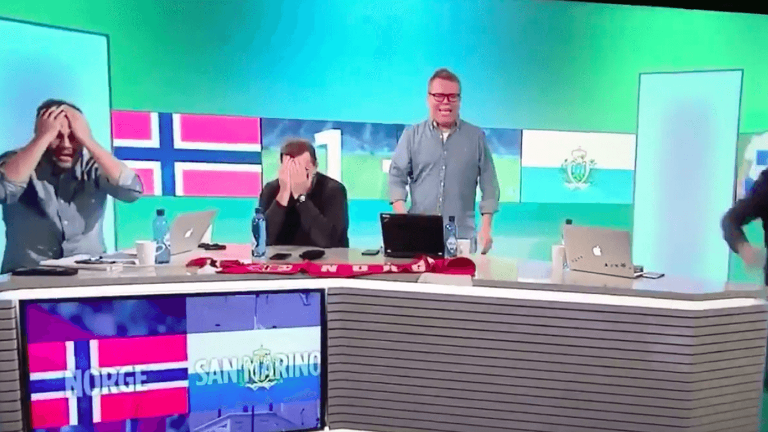 Hilarious Norwegian Reaction to San Marino's First Away Goal in 15 Years