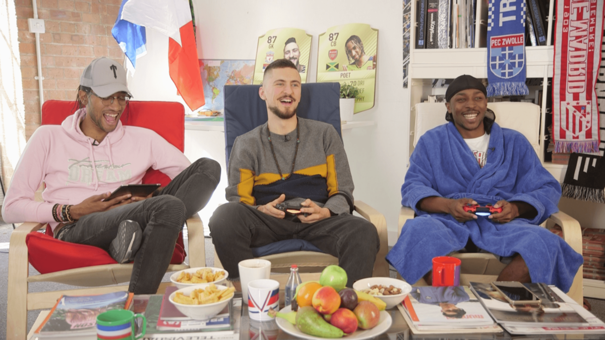 FIFA and Chill with Jme