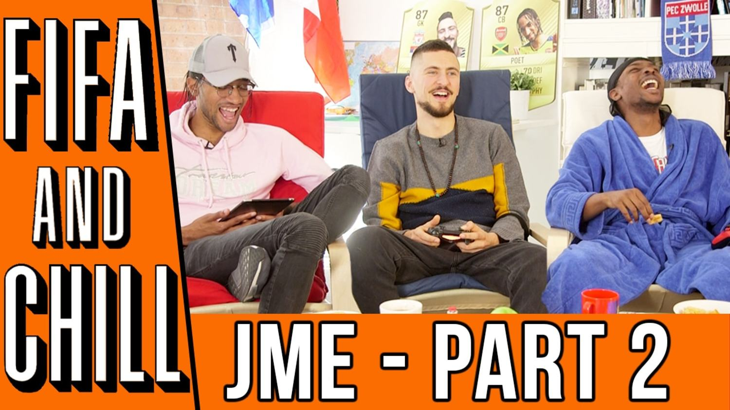 FIFA and Chill with Jme - Part 2