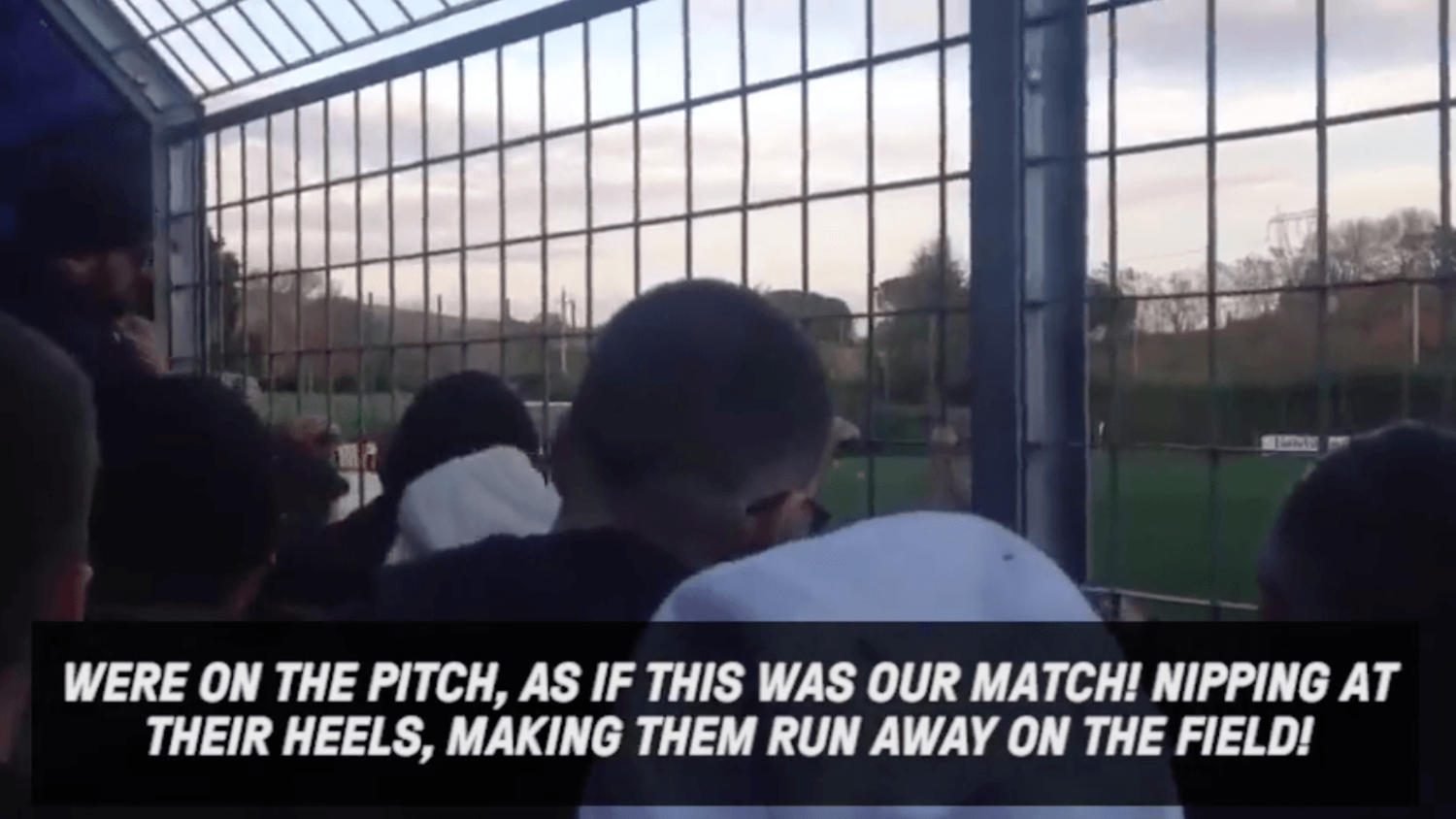 When your Ultras give the team talk things get loud