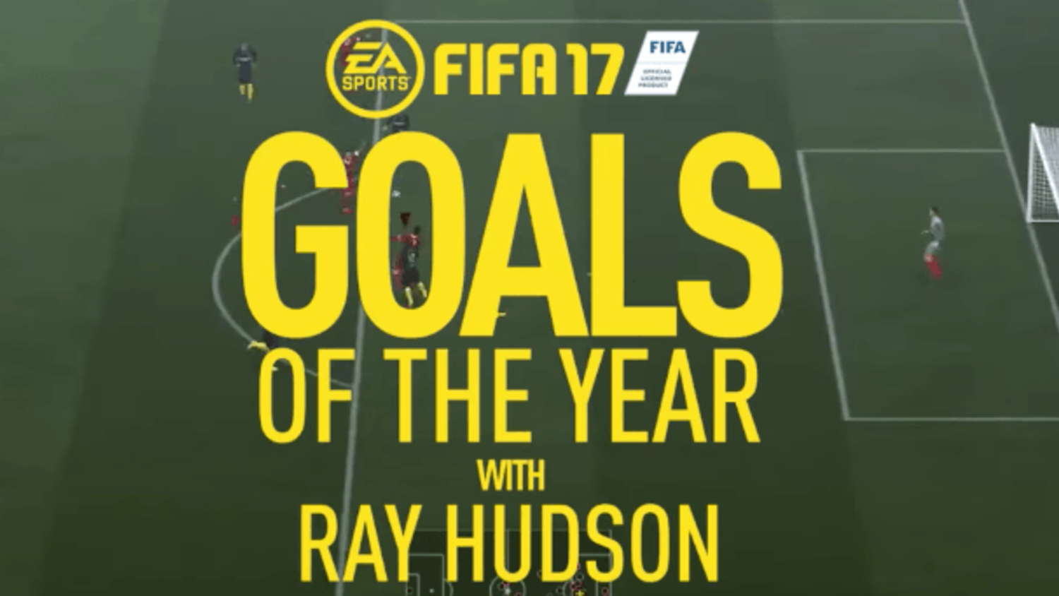 EA Sports release the FIFA 17 Goals of the Year