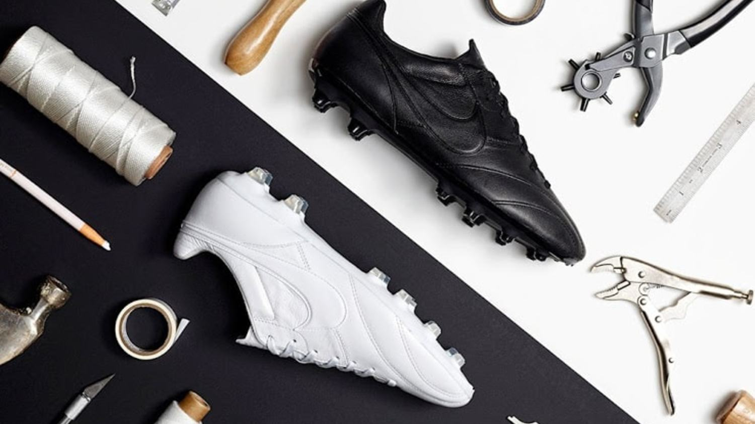 Nike Release Beautiful White and Black 'Premier' Boots